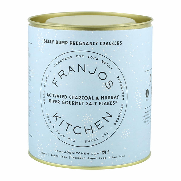 Franjos Kitchen Activated Charcoal Crackers