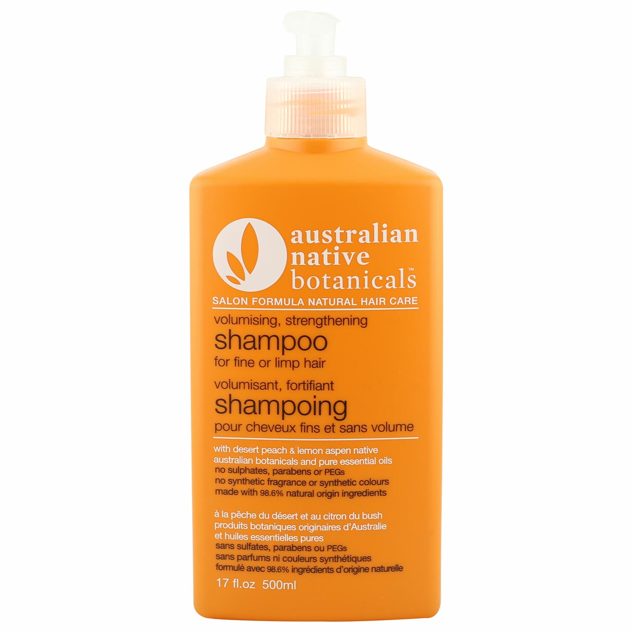 Australian Native Botanicals Orange Volumising Shampoo
