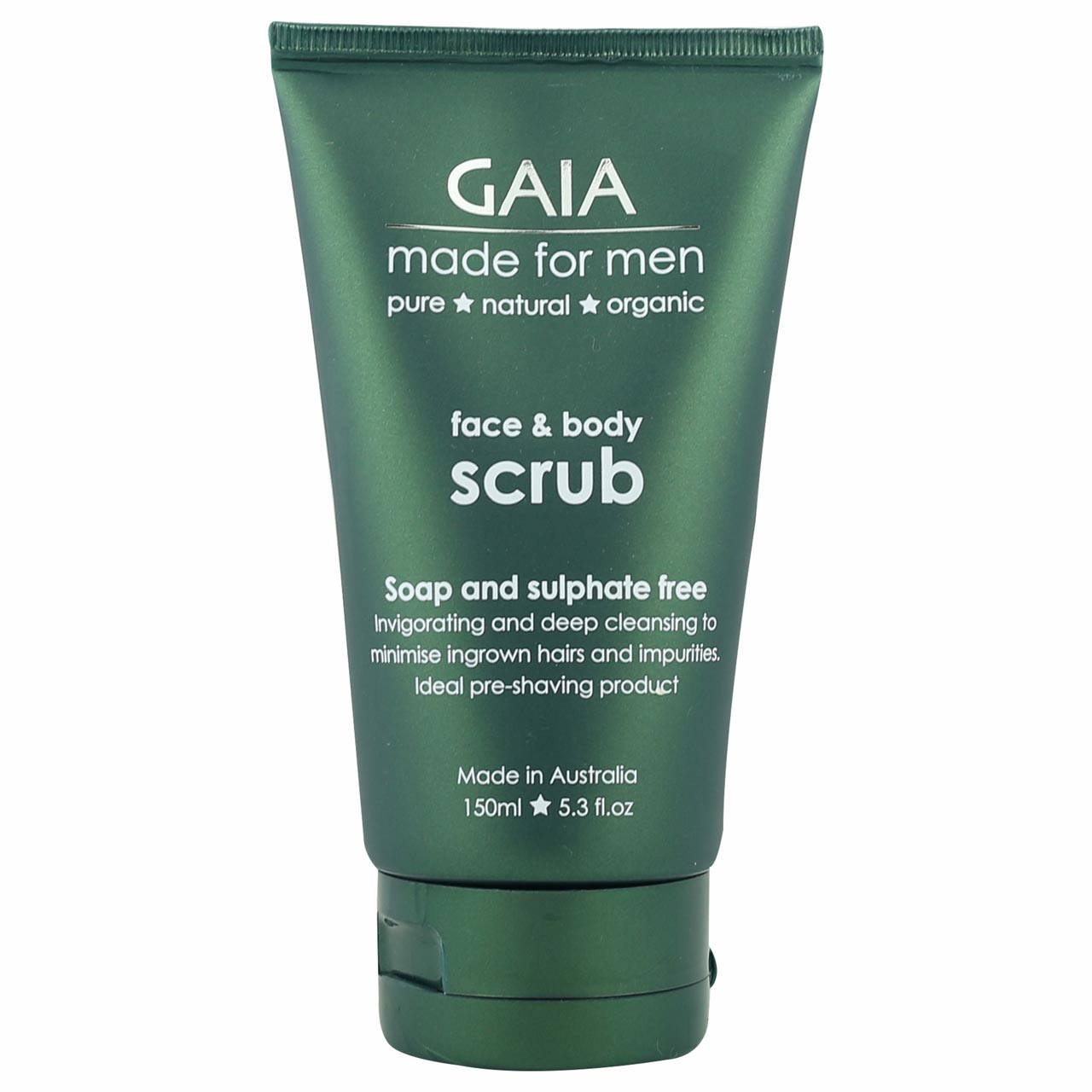 GAIA Made for Men Face and Body Scrub