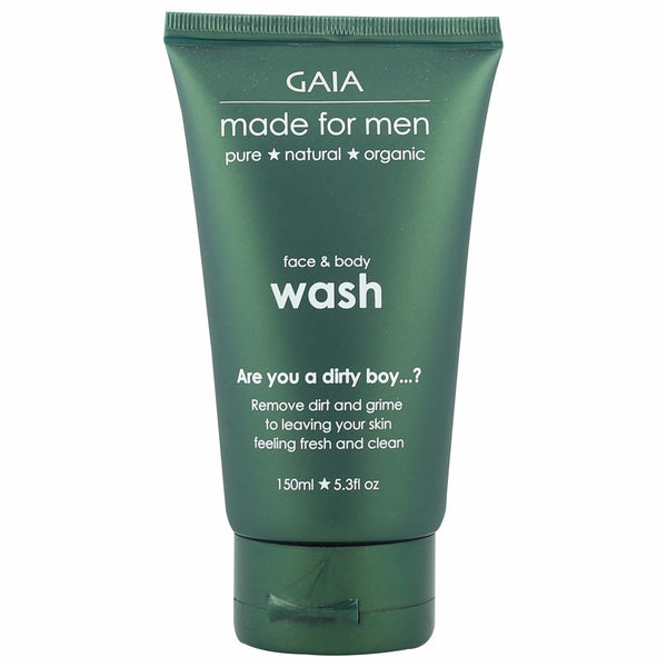 GAIA Made for Men Face and Body Wash