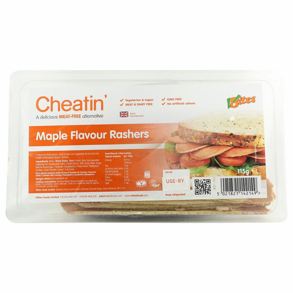 VBites Maple Bacon Rashers
