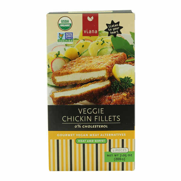 Viana Organic Chickin Fillets