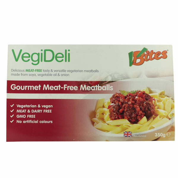 VBites Meat Free Meatballs -Use By 25th October 2018