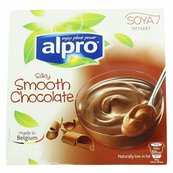 Alpro Silky Smooth Chocolate Dessert Cups