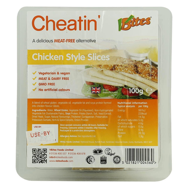 Vbites Chicken Style Slices