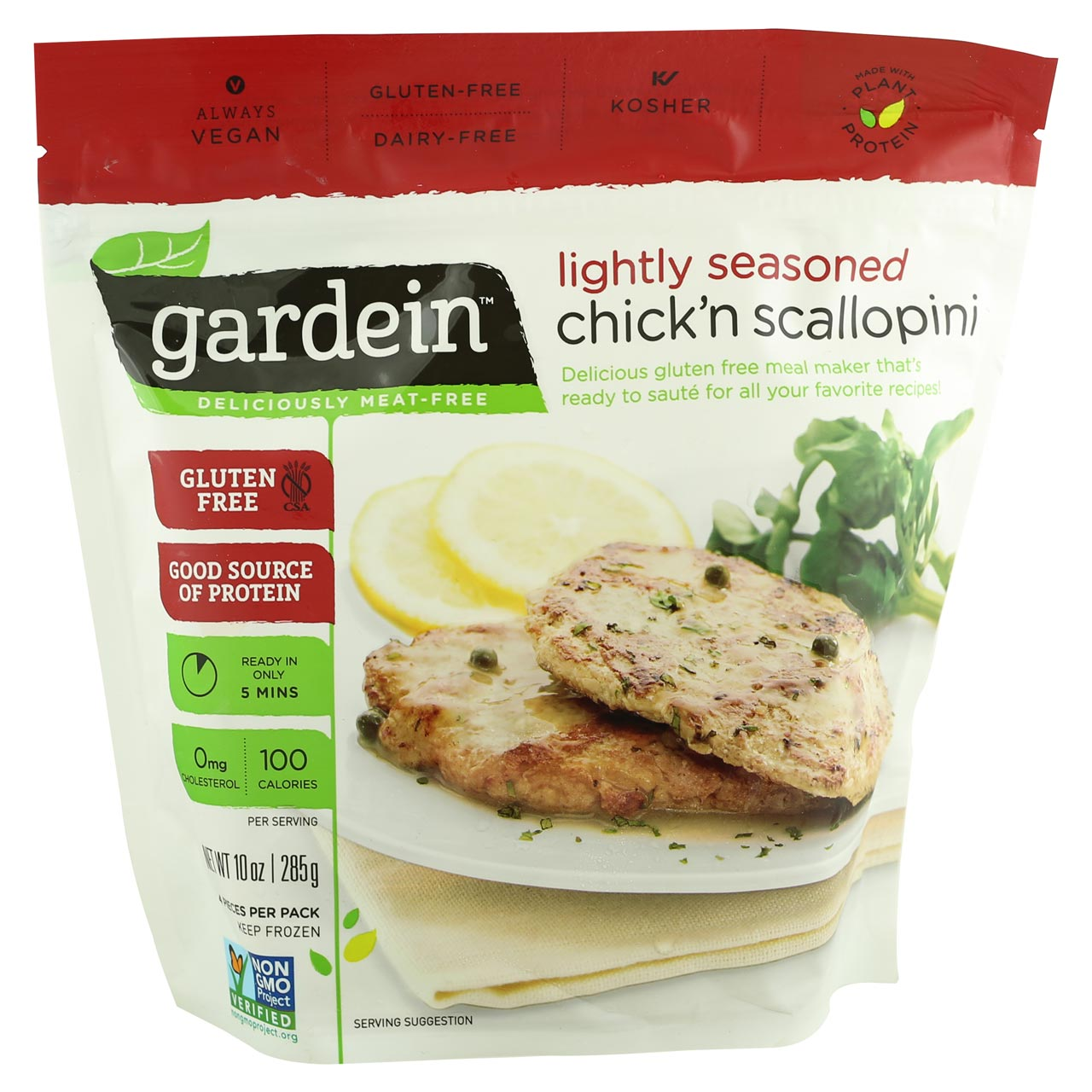 Gardein Chick'n Scallopin -Best Before 11th -27th Sept