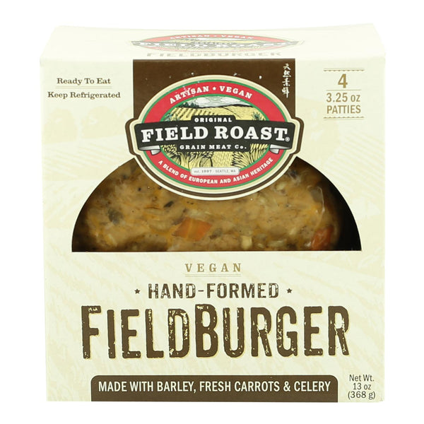 Field Roast Hand Formed Burger Patties (Use by: 29th June 2018)
