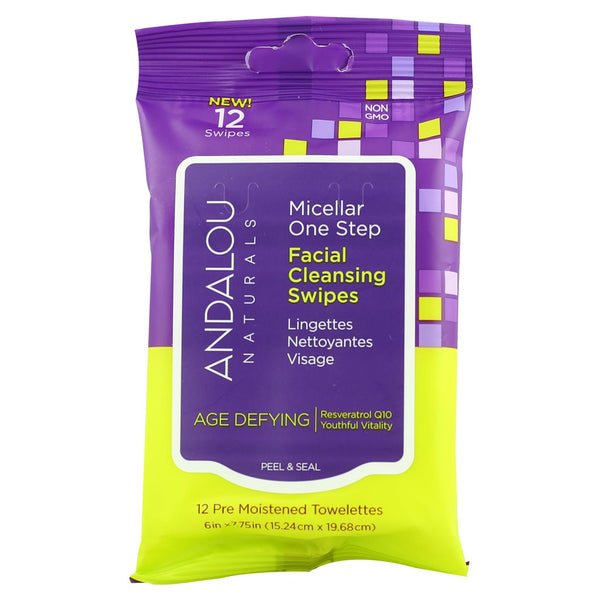 Andalou Facial Cleansing Wipes