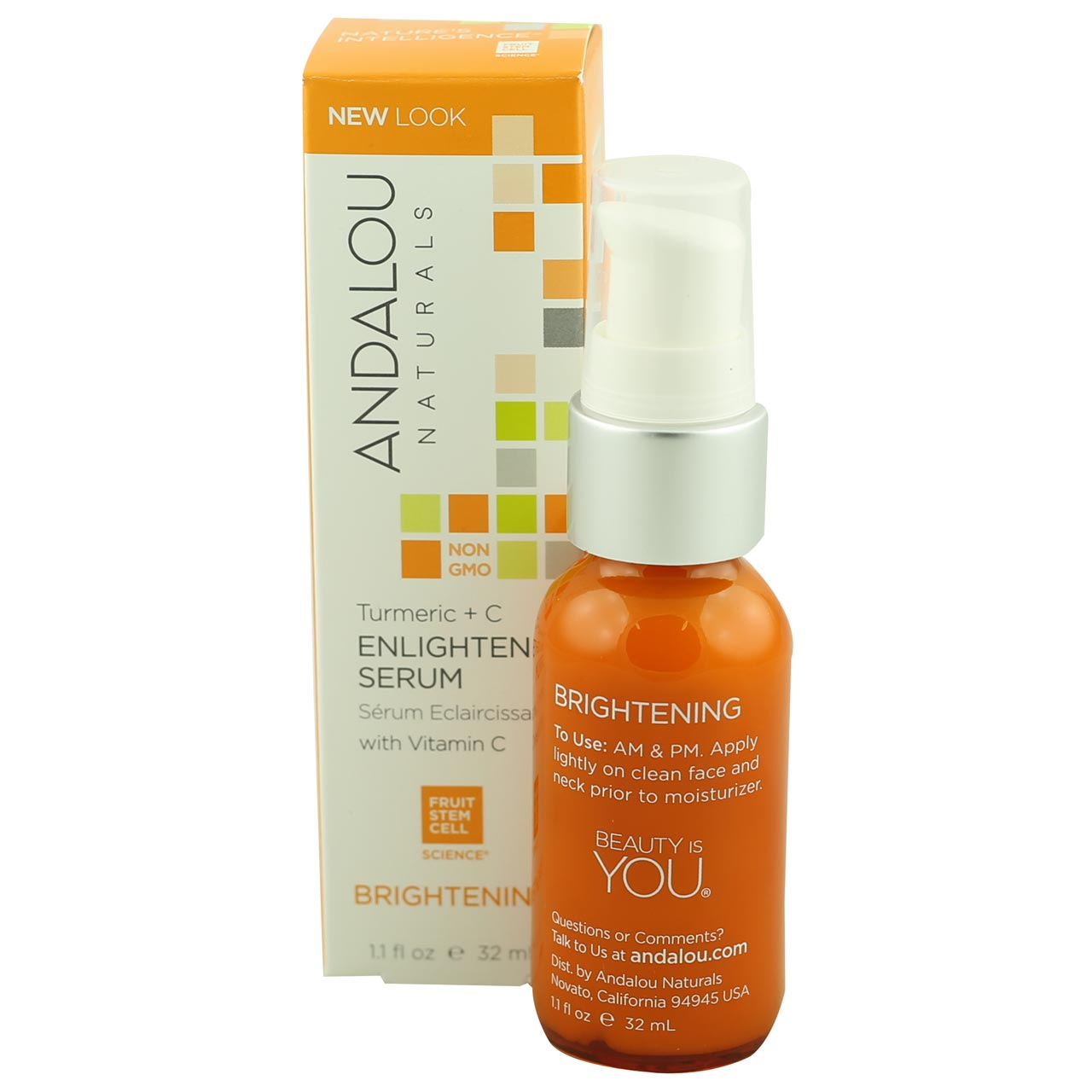 Andalou Enlighten Serum