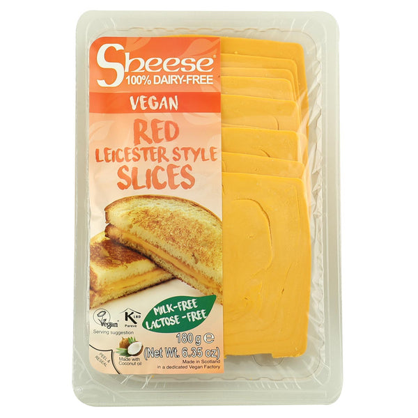 Sheese Red Leicester Style Slices- Best Before 30th January 2019