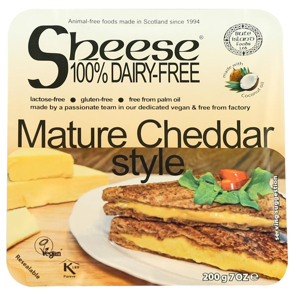 Sheese Mature Cheddar Style Block - BEST BEFORE 14th MARCH 2019