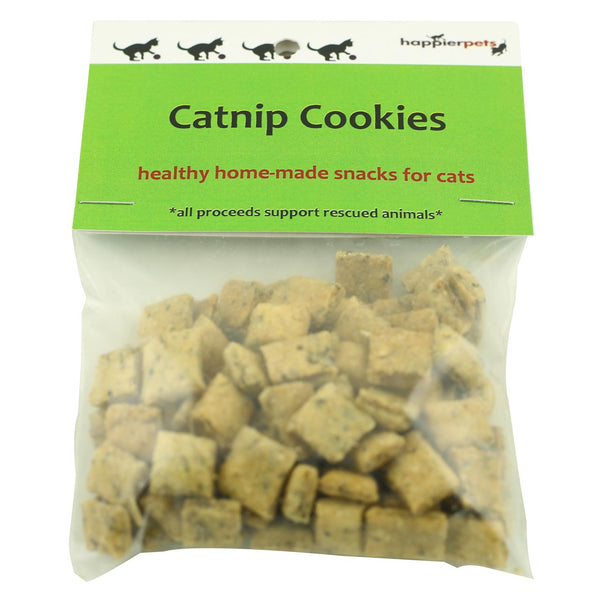 Happier Pets Catnip Cookies (Small) for Cats