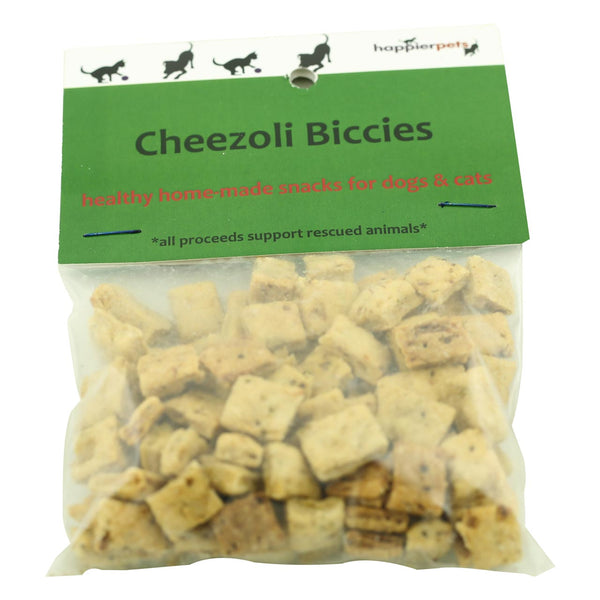 Happier Pets Cheezoli Biccies (Small) for Dogs & Cats