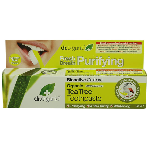 Dr Organic Toothpaste -Tea Tree