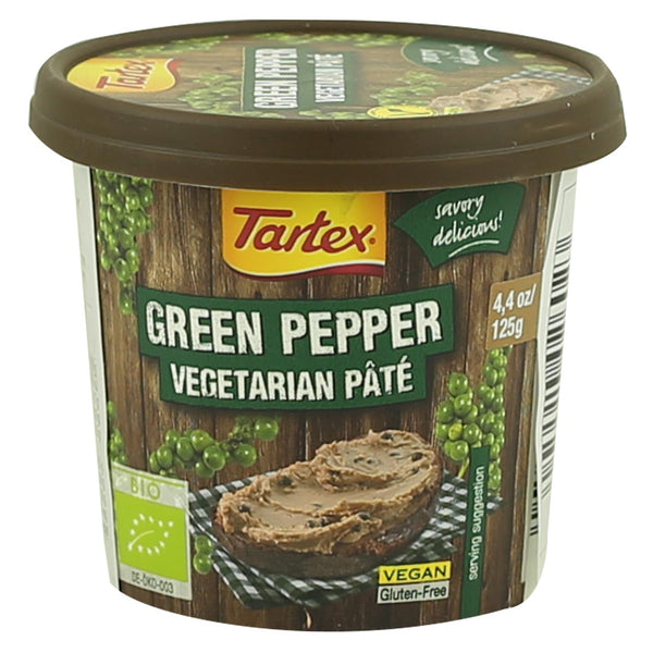 Tartex Pâté -Green Pepper (Best before: July 2018)