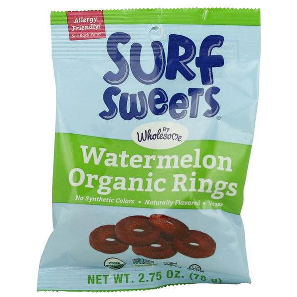 Surf Sweets Watermelon Rings - Best Before 21st Feburary 2019