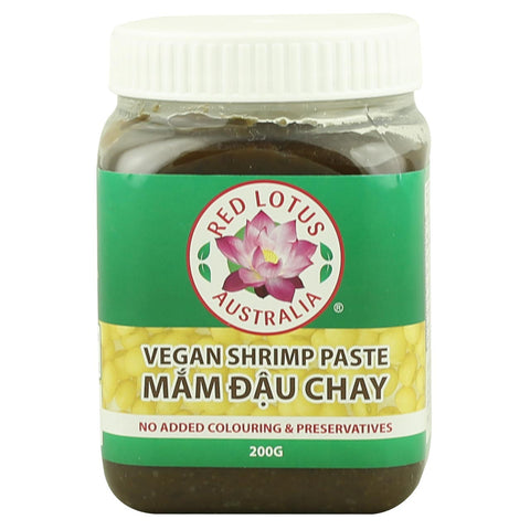 Red Lotus Vegan Shrimp Paste -Use by: 11th March 2019