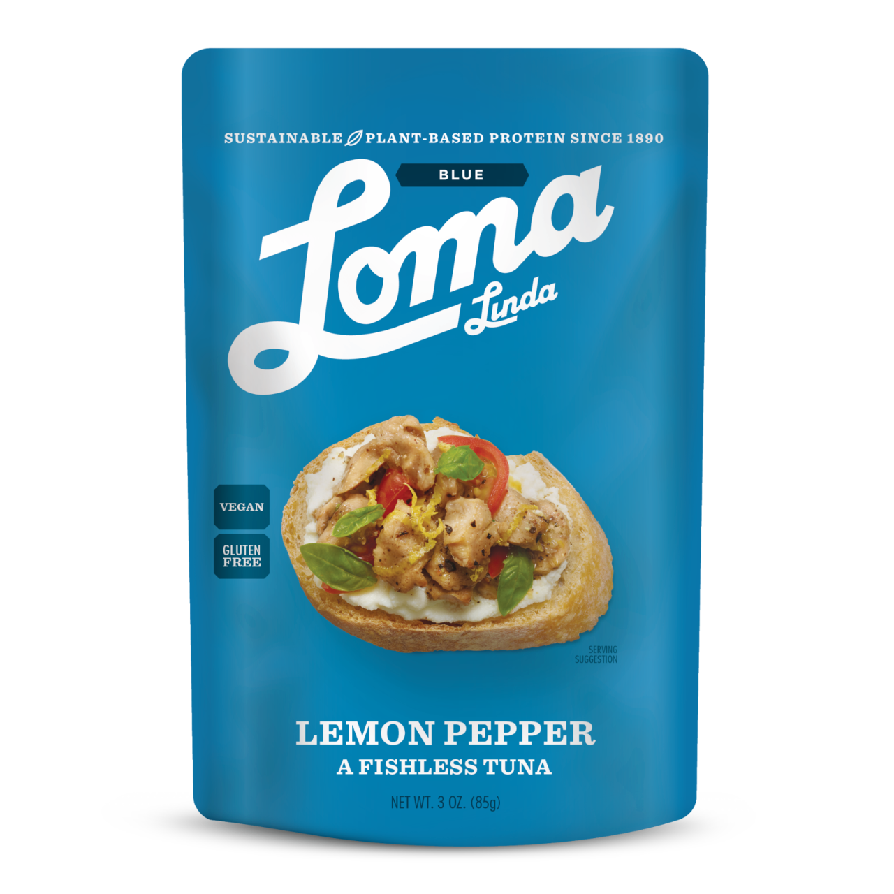 Loma Linda Vegan Tuna -Lemon Pepper