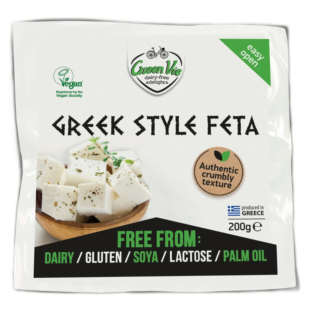 Green Vie Crumbly Greek Style Feta