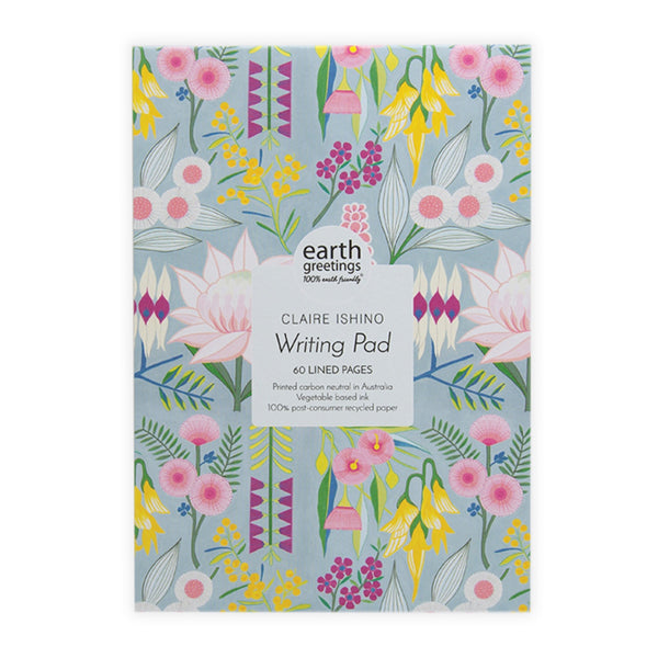 Earth Greetings A5 Writing Pad -Rich & Rare