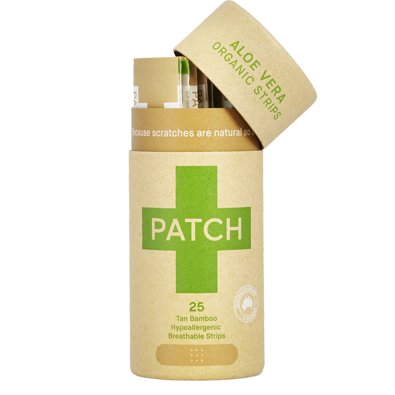 Patch Natural Aloe Vera Adhesive Strips
