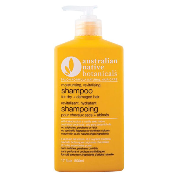 Australian Native Botanicals Yellow Moisturising Revitalising Shampoo
