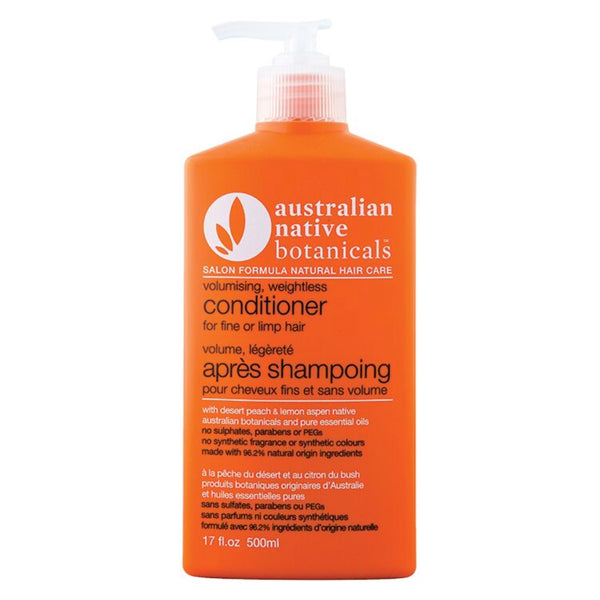 Australian Native Botanicals Orange Volumising Weightless Conditioner