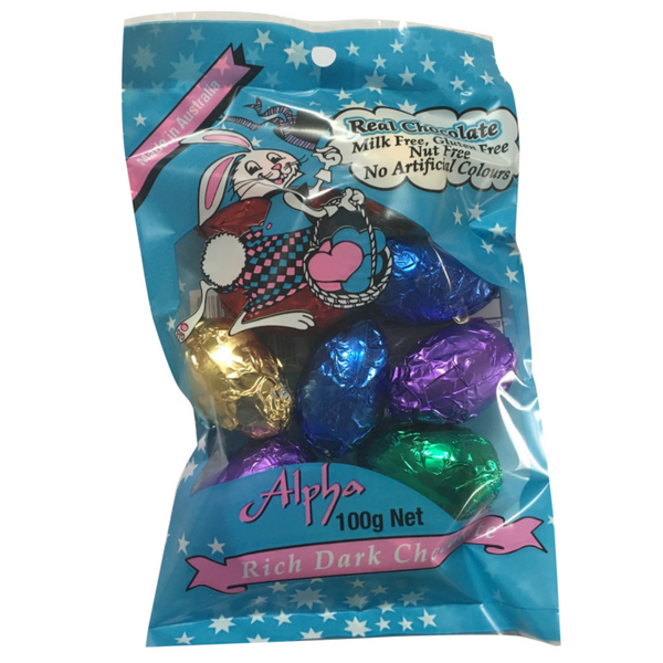 Alpha Small Easter Eggs -10 pack