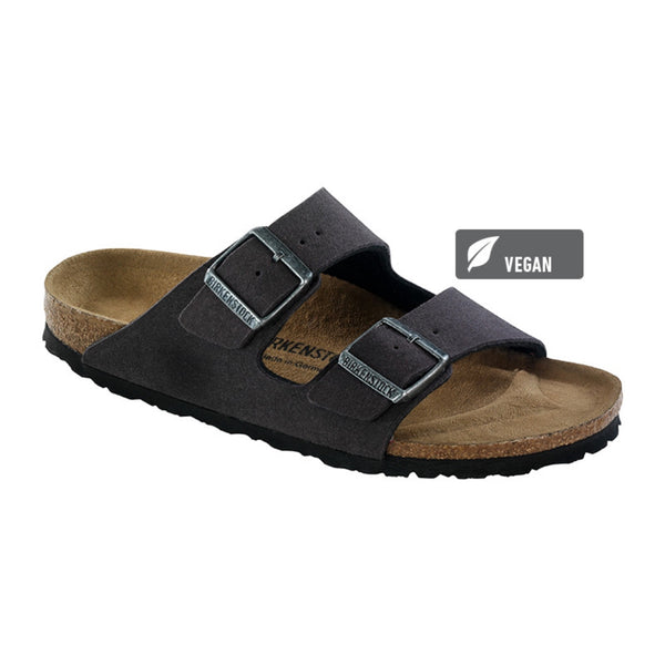Birkenstock Vegan Arizona Sandals -Anthracite (Microfibre)