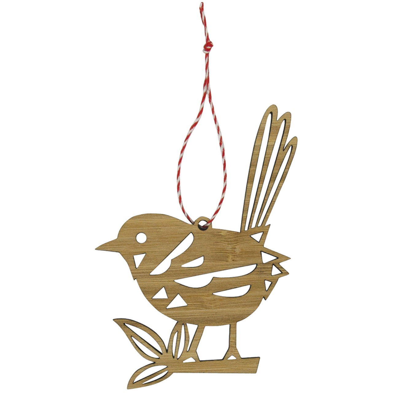 Earth Greetings Bamboo Decoration -Fairy Wren