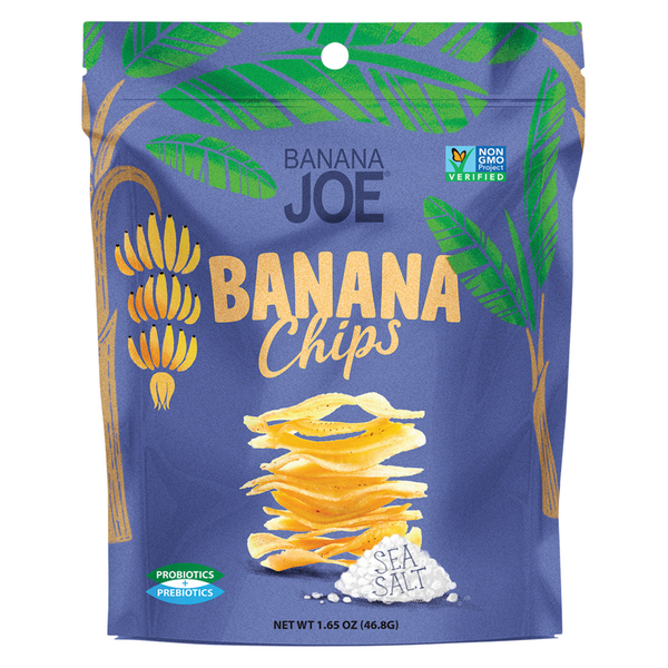 Banana Joe Banana Chips -Sea Salt