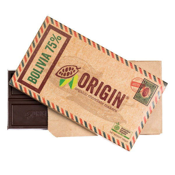 Origin Organic Chocolate Block