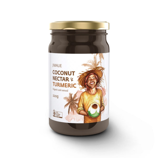 Jimalie Coconut Nectar with Turmeric