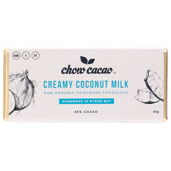 Chow Cacao Creamy Coconut Milk Chocolate