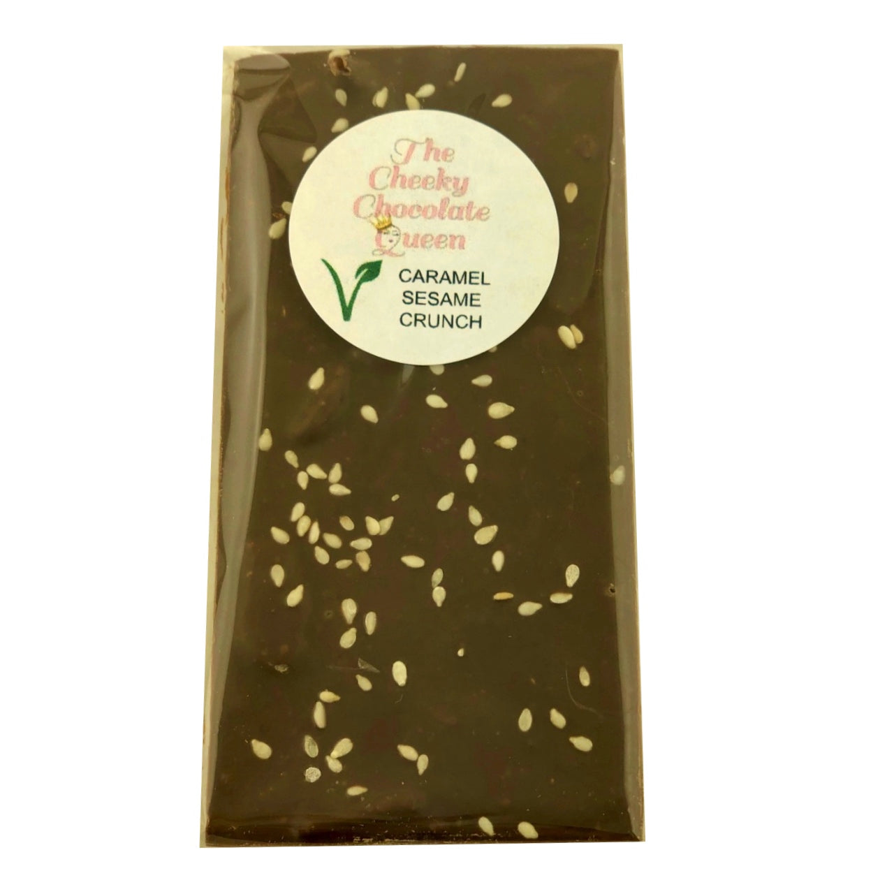 The Cheeky Chocolate Queen Choc Block -Caramel Sesame Crunch