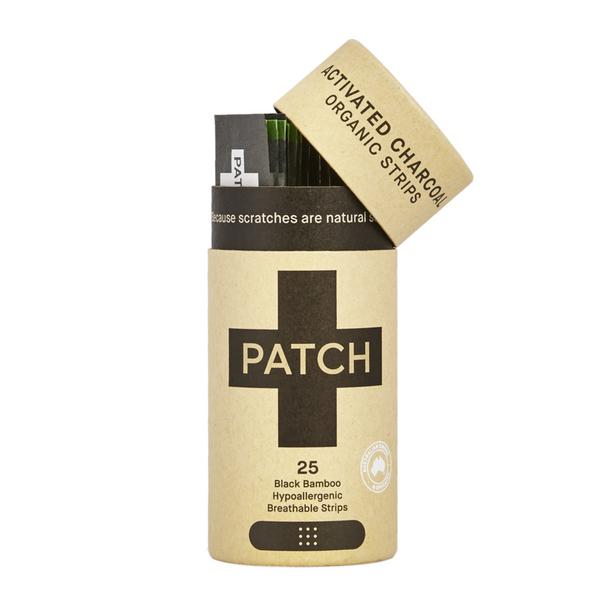 Patch Natural Activated Charcoal Adhesive Strips