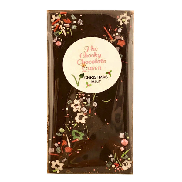 The Cheeky Chocolate Queen Christmas Block -Mint