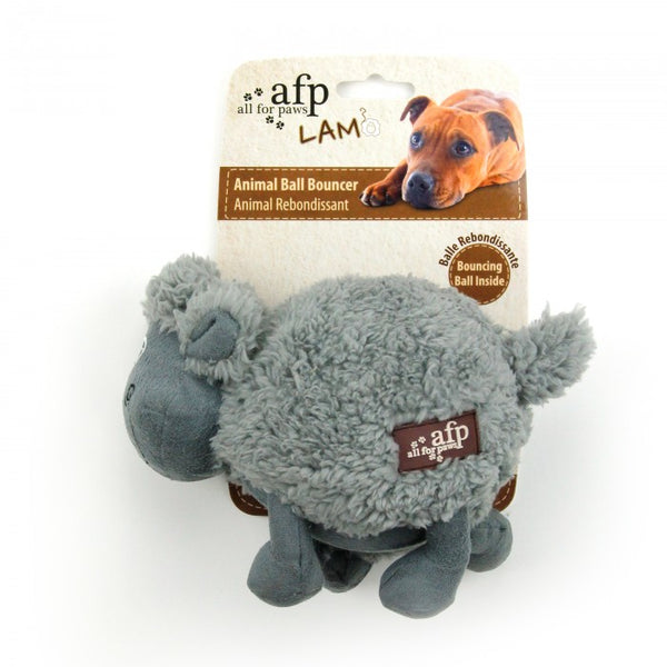 Cuddle Ball Dog Toy - Sheep
