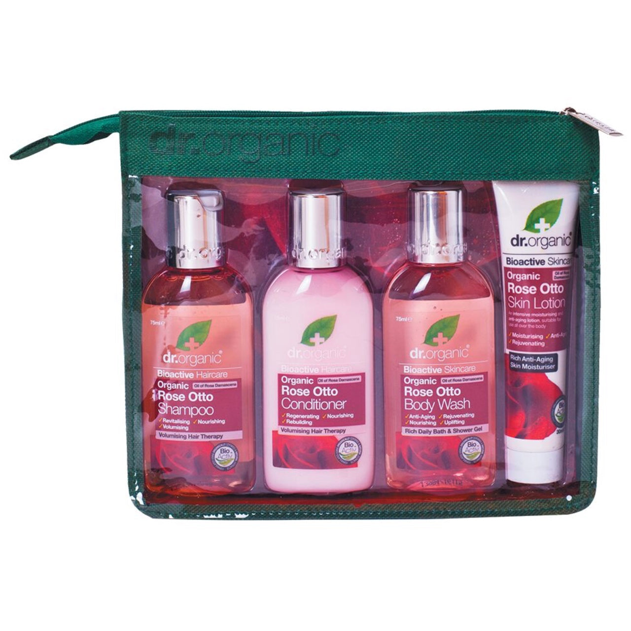 Dr Organic Rose Otto Travel Pack