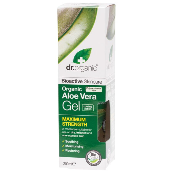 Dr Organic Maximum Strength Aloe Vera Gel