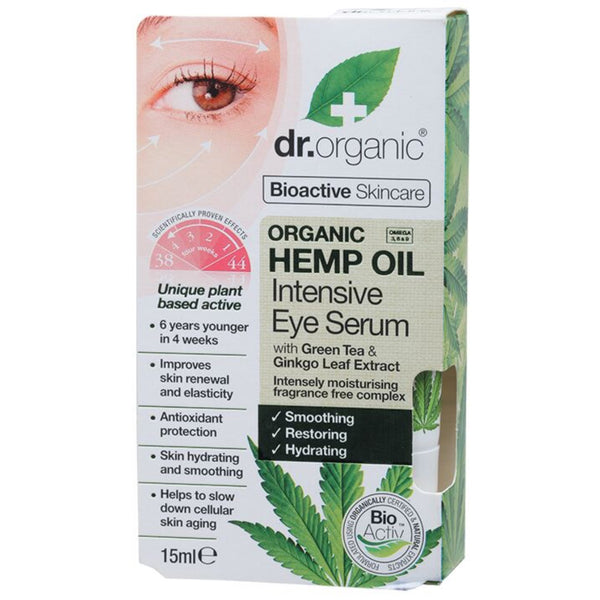 Dr Organic Intensive Eye Serum -Hemp Oil