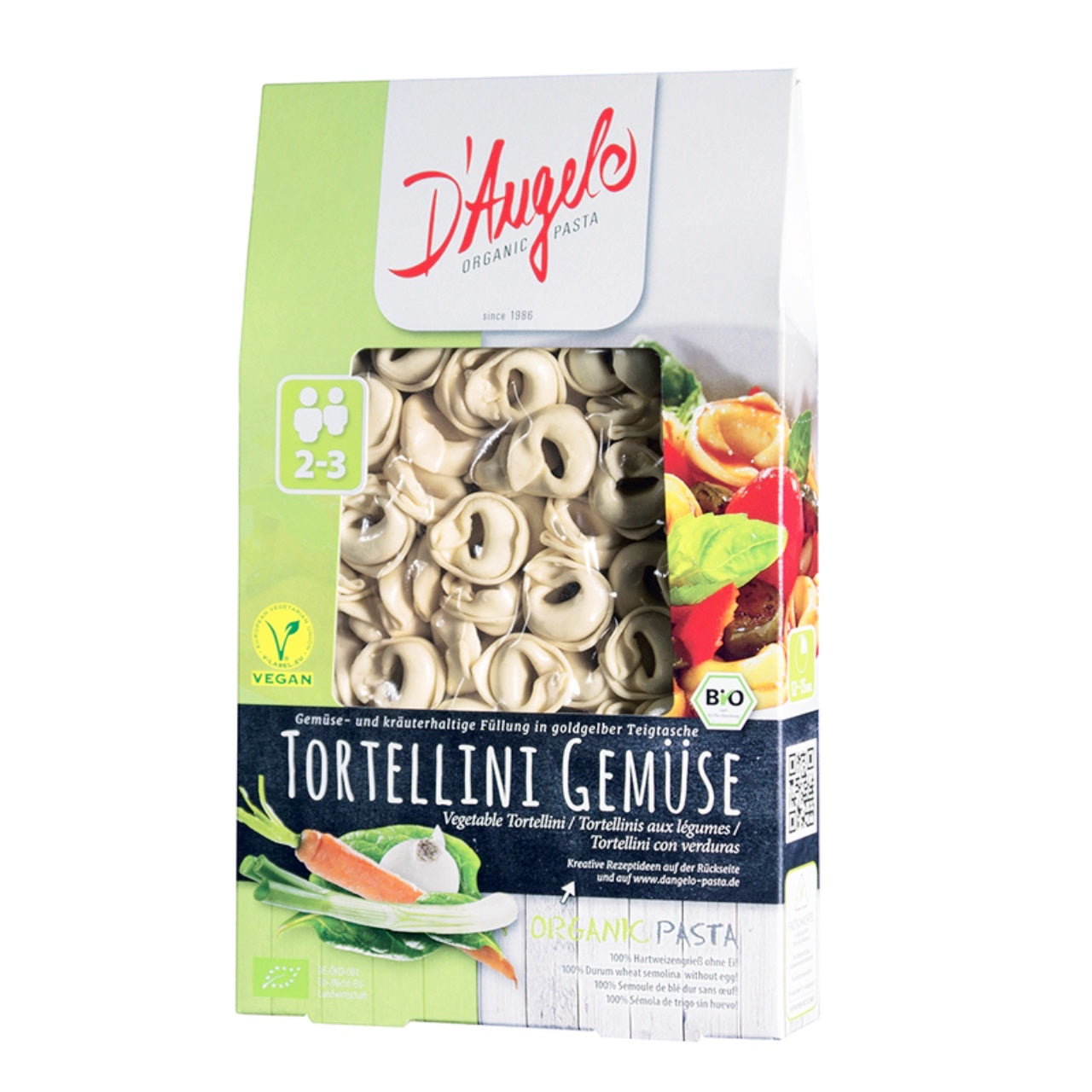 D'Angelo Mixed Vegetable Tortellini