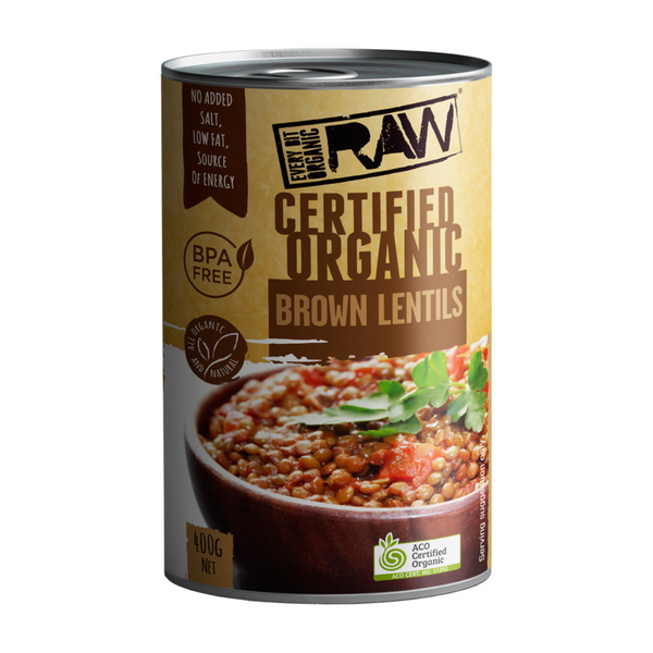 Every Bit Organic Brown Lentils