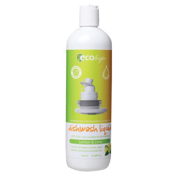 Ecologic Dishwash Liquid - Lemon and Lime