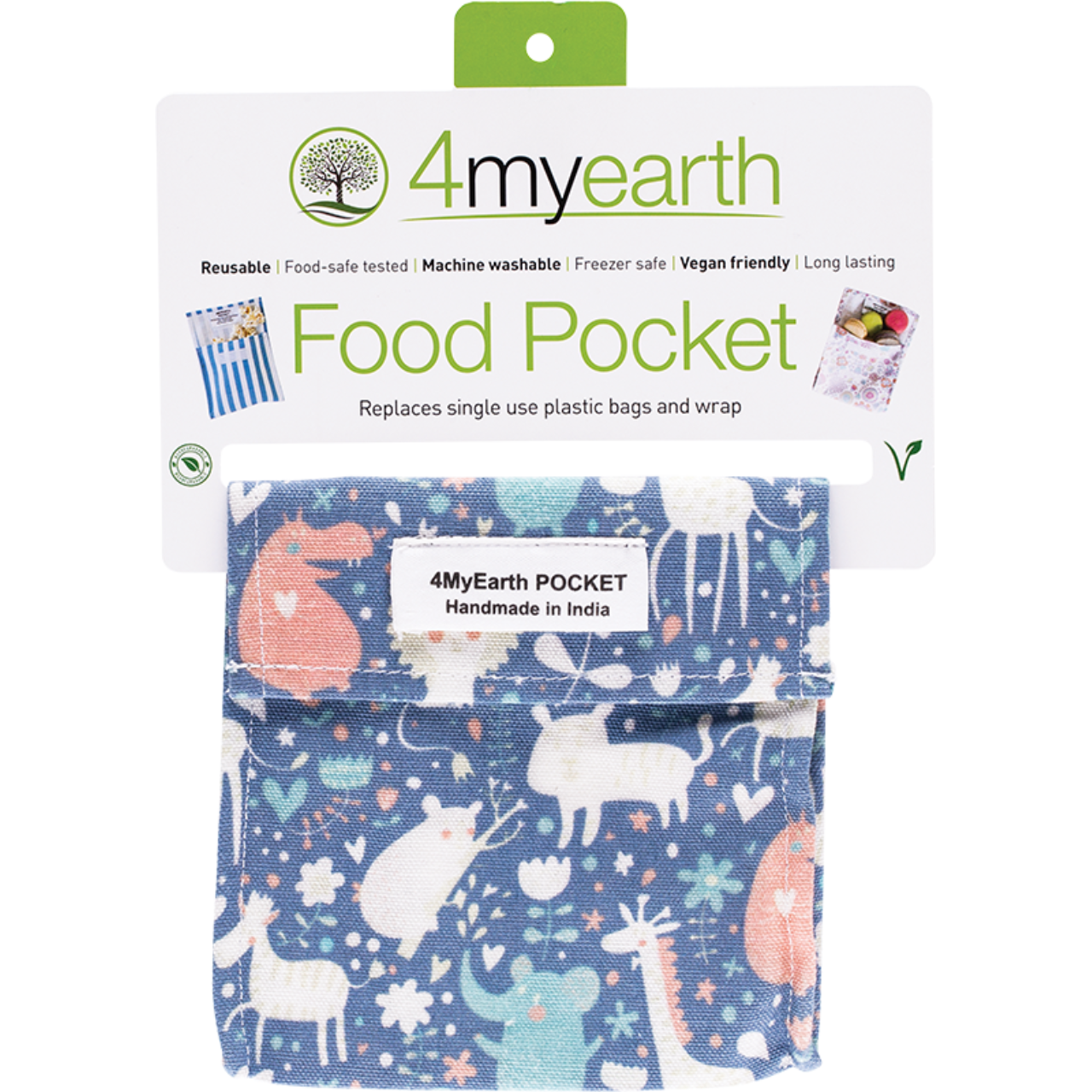 4MyEarth Food Pocket -Animals