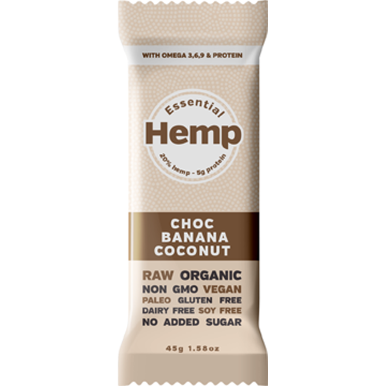 Hemp Foods Australia Hemp Snack Bar - Choc Banana