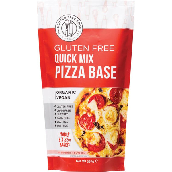 The Gluten Free Food Co Quick Pizza Base Mix