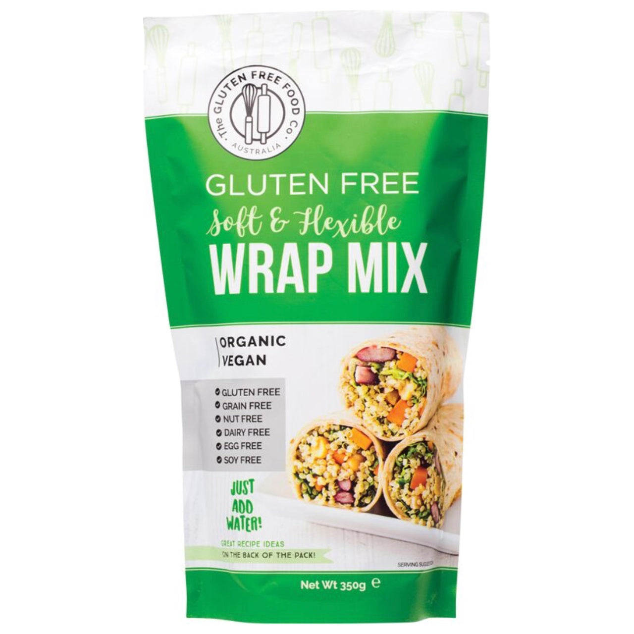The Gluten Free Food Co Soft & Flexible Wrap Mix