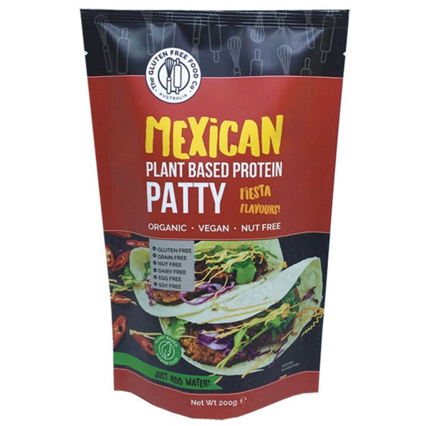 The Gluten Free Food Co Protein Patty Mix -Mexican