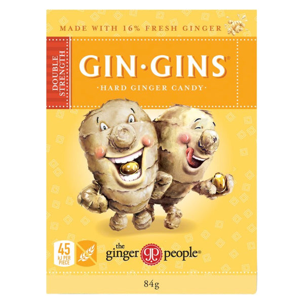 Gin Gins Double Strength Hard Candy 84g
